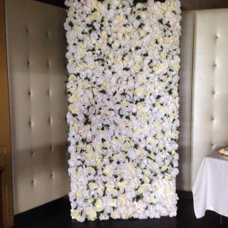 White Luxe Wall #whiteluxe #flowerwall #melbourne