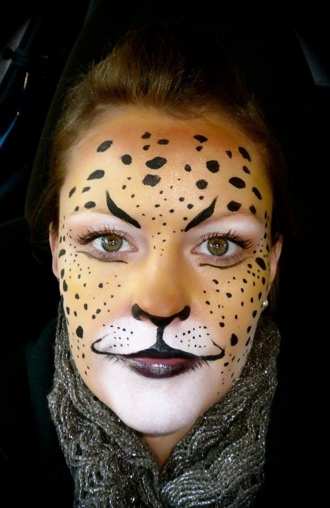 Best 25+ Leopard halloween makeup ideas on Pinterest