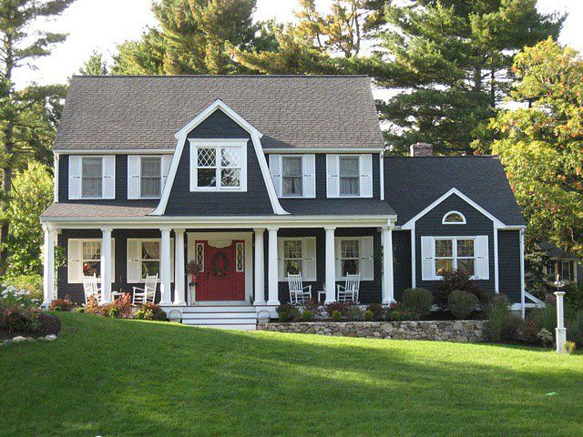 Colonial house exterior renovation ideas for Outside renovation ideas