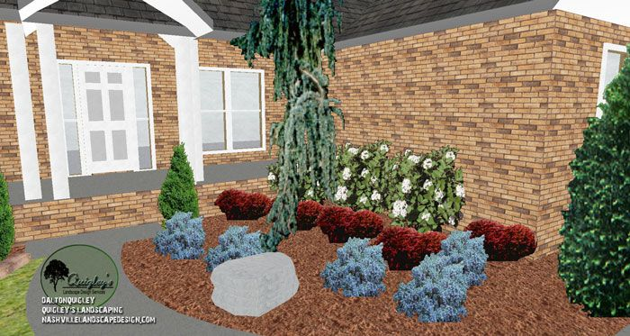 This Is A Spring Hill Tn Landscape Design We Worked On A