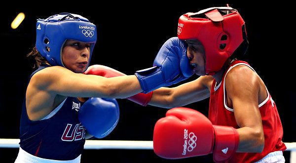 Women's Olympic Boxing Team | Esparza and Shields Go to Olympic Boxing Semifinals - NYTimes.com