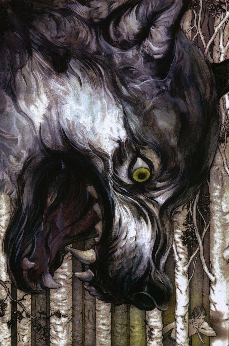 Bigby Wolf by James Jean *