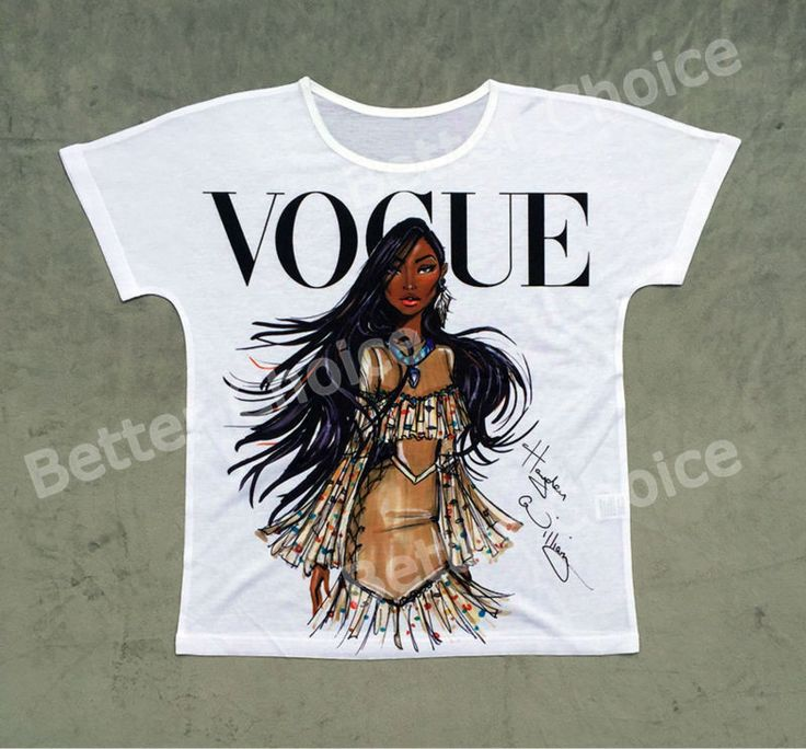 Track Ship + Vintage Retro T-shirt Top Tee Personality Model Vogue Brown Skin Girl 0779