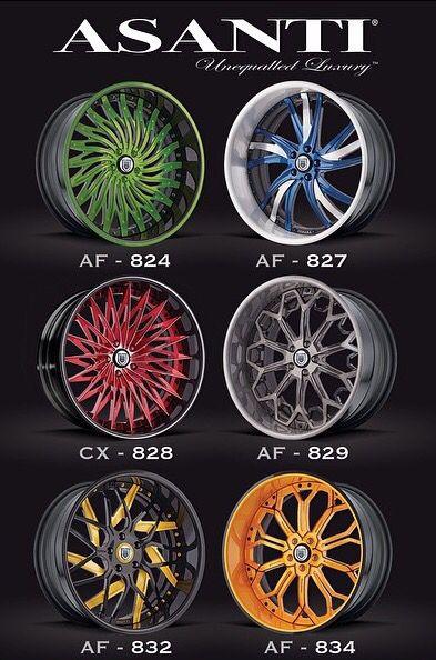 Asanti Authorized Dealer | Tint World Custom Wheels