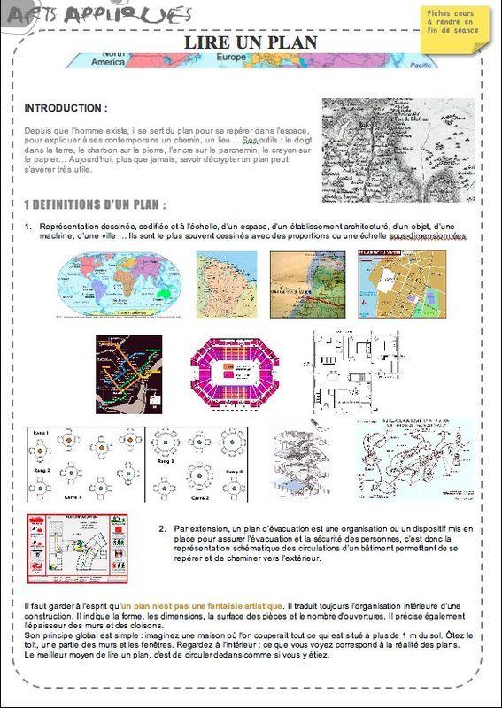 Lire un plan - Artzabertène enseigner - Lire Un Plan De Maison