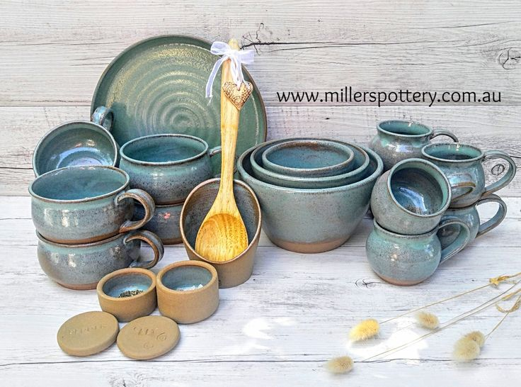 Handmade Ceramic Kitchenware Collection by Miller's Pottery Australia