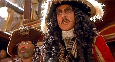 Dustin Hoffman captured Captain Hook perfectly.