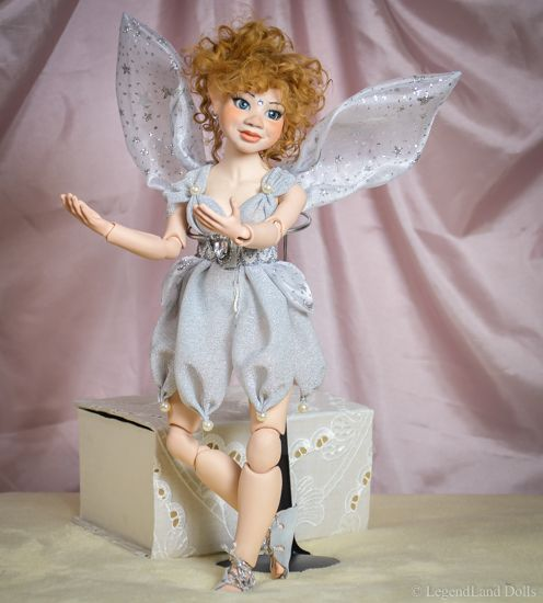 Standing BJD art doll Fatime. Porcelain, hand made doll by LegendLand Dolls