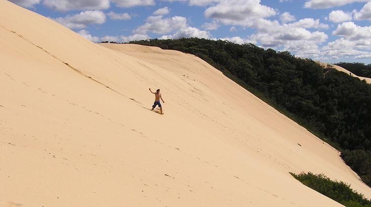 Thurra River dune surfing @ Croajingolong National Park