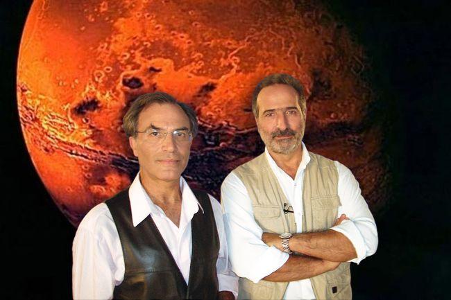 Πράσινα αρειανά ανθρωπάκια! Μύθος ή πραγματικότητα; Όλη η αλήθεια για το θέμα της ύπαρξης ζωής στον κόκκινο πλανήτη από τους αστροφυσικούς Μάνο Δανέζη και Στράτο Θεοδοσίου στο 28ο επεισόδιο της σειράς ΤΟ ΣΥΜΠΑΝ ΠΟΥ ΑΓΑΠΗΣΑ της ΕΤ3. Τα βιβλία των καθηγητών θα τα βρείτε στις Εκδόσεις Δίαυλος. www.diavlosbooks.gr