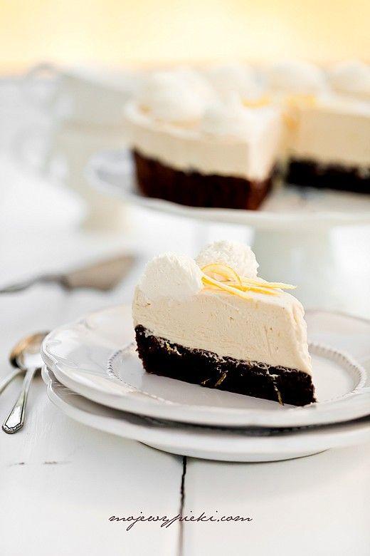 Schokoladenkuchen mit Zitronenmousse #Aufgetischt #lecker #yummi #EuropaPassage #EuropaPassageHamburg
