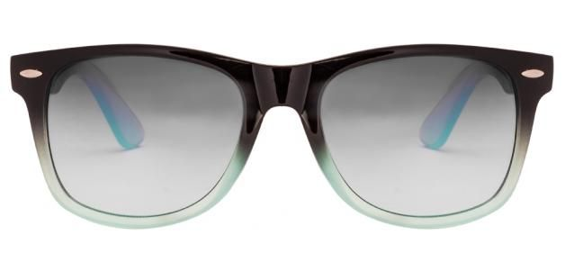 Vincent Chase VC 4301 Black Green Transparent Grey Gradient Wayfarer Sunglasses