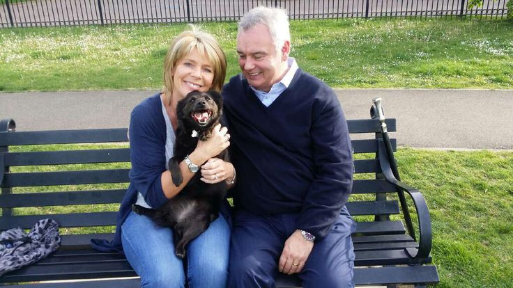 Eamonn and Ruth with Maggie their rescue dog