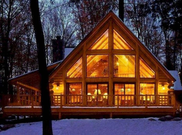 42 Favourite Log Cabin Homes Plans One Story Design Ideas #LogCabinHomesPlansOneStoryDesignIdeas