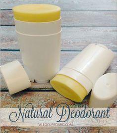 All Natural Deodorant Recipe - paleocupboard.com