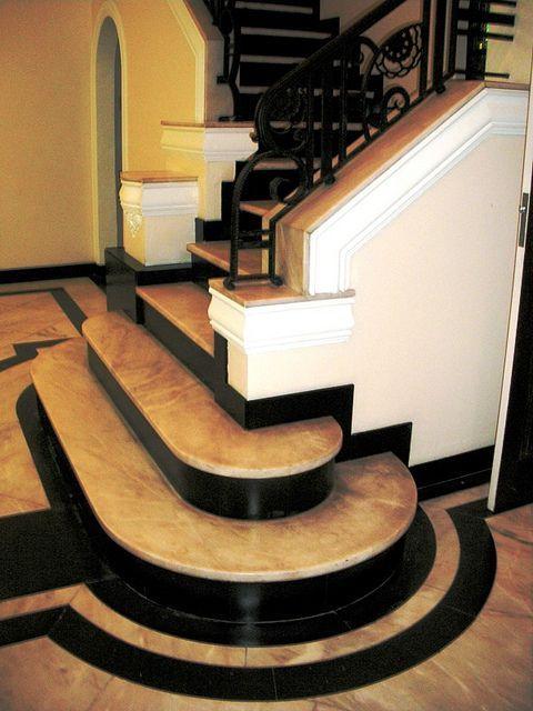 "cgmfindings: "" Art Deco Staircase, Basbaum House, Urca, Rio De Janeiro """