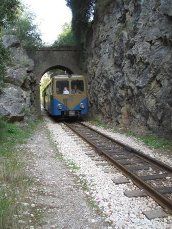 Vouraikos Canyon Cog Railway - Kalavrita