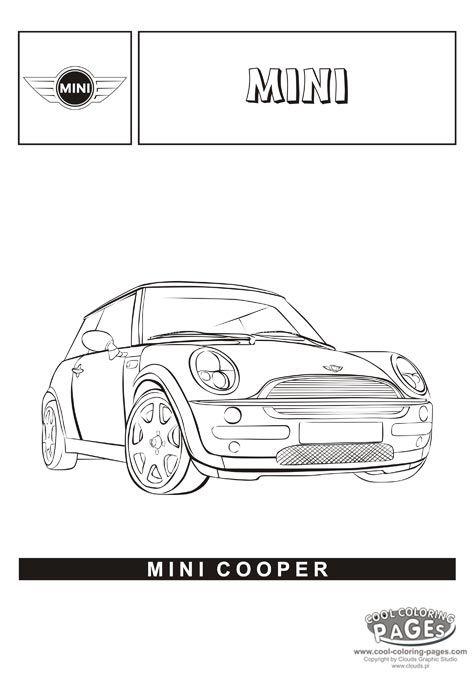 mini cooper s ausmalbilder