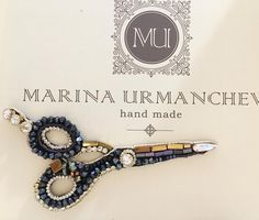 #MU ☺️ Брошь для Парикхмахера