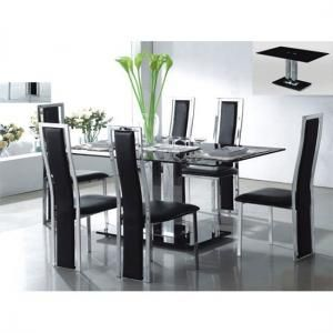 23 best Extendable Glass Dining Table images on Pinterest Dining
