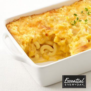 Prepared Image of Four Cheese Baked Mac & Cheese