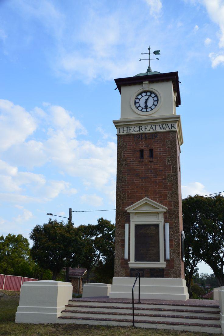 Gloucester War Memorial, Gloucester, NSW.
