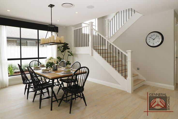 [Hamptons style staircase] Made by Genneral Staircase
