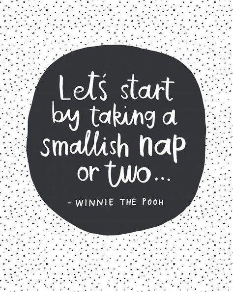 Winnie The Pooh Quote - Nursery Printable - Kids Bedroom - Disney Quote Artwork…