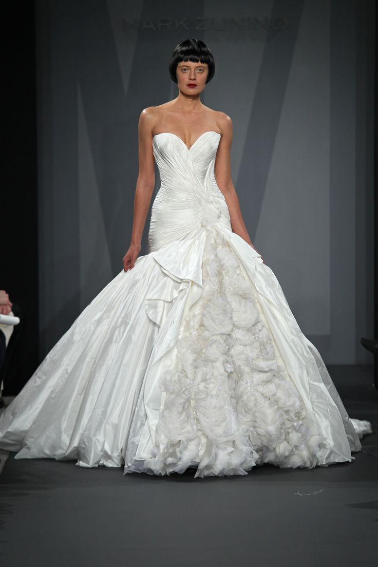 38 best MARK ZUNINO images on Pinterest | Wedding dressses, Mark ...