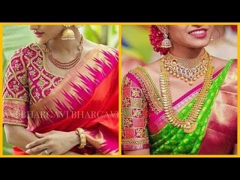 25 Designer blouse collection    latest design of ladies blouses - YouTube