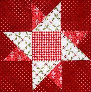 Christmas Quilt Block