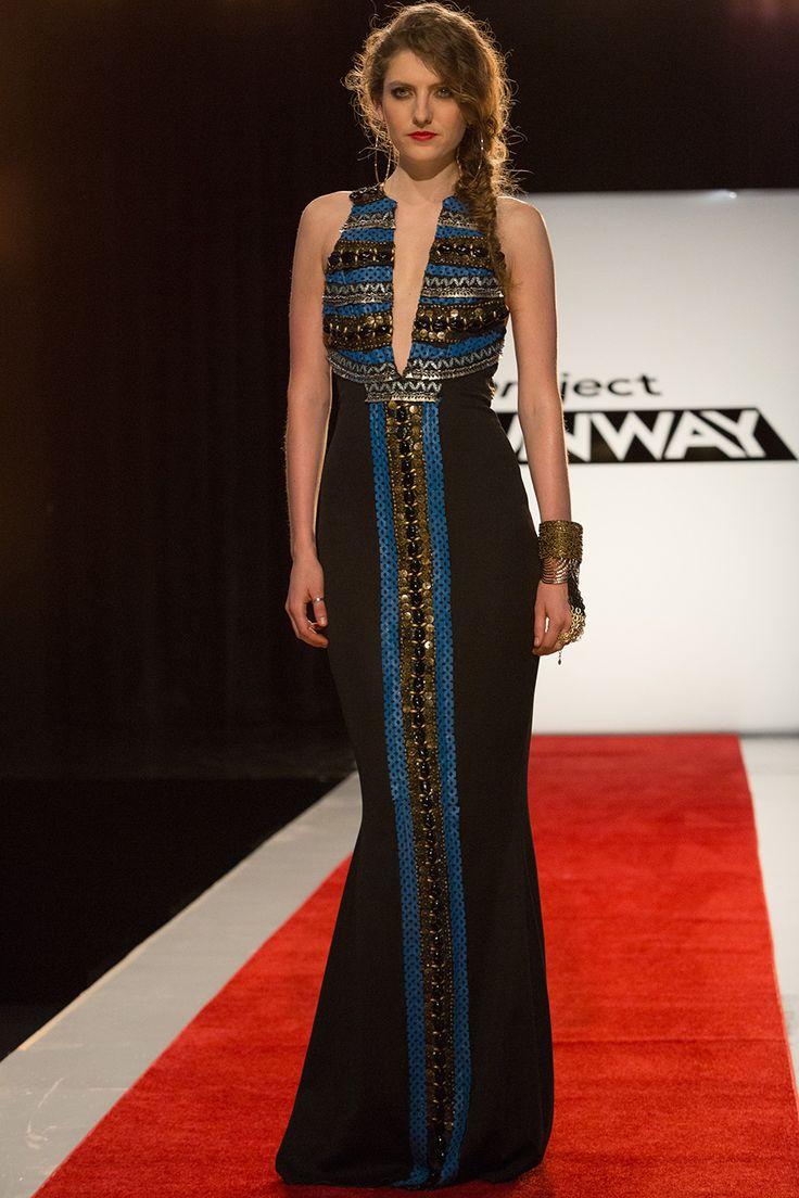 Amanda Valentine winning look from episode 5 of Project Runway Season 13.