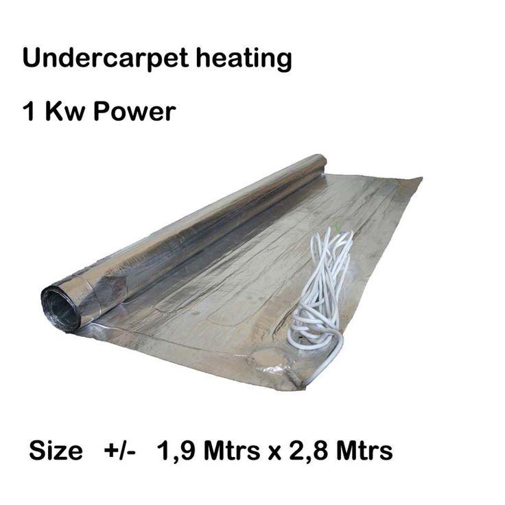 Under carpet heating 1kw