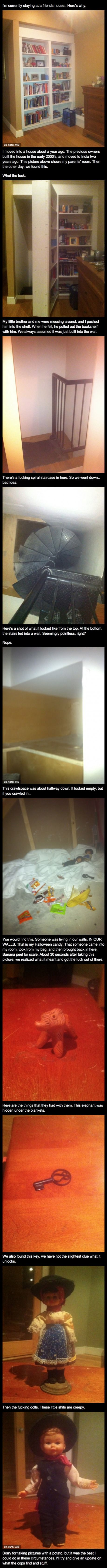 You Will Never Be This Creeped Out By Anything In Your House