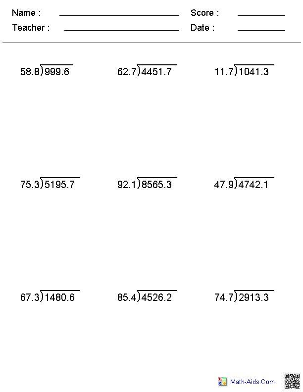 Year 5 Division Chunking Worksheets division questions by – Division Chunking Worksheet