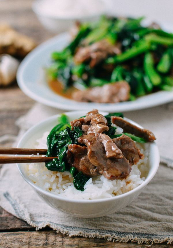 This beef with Chinese broccoli recipe is a bit of a change-up from regular beef and broccoli. You can also substitute broccolini in this dish if needed.
