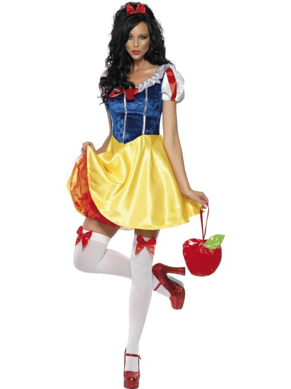 snow white costumes adults | Adult Snow White Costume [30195] - £29.95 - Fancy Dress Costumes and ...