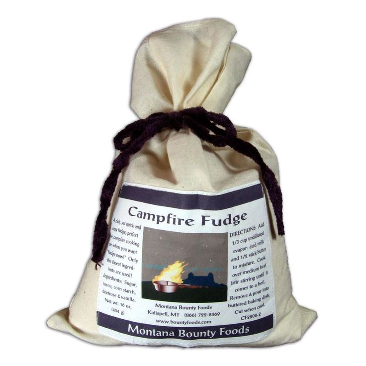 This gourmet food dry mix is made right here in Montana from select ingredients, like sugar, cocoa, corn starch and vanilla. All you need to add is evaporated milk and butter. Campfire Fudge Mix is available in a 16oz. pouch that would fit perfectly in a culinary gift basket or in a backpack for a little sweet treat while camping.