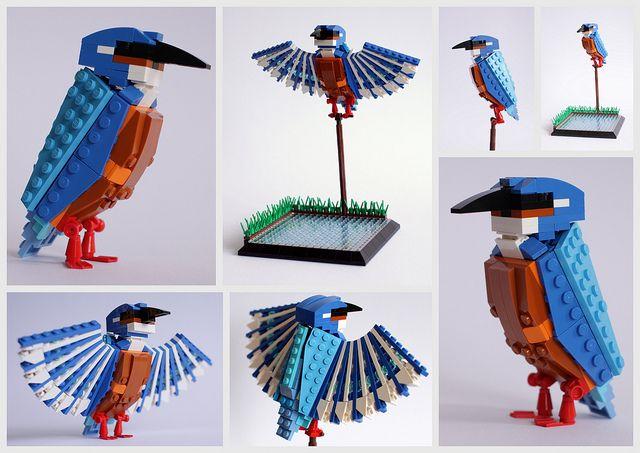 what do you think?: British Birds, Lego Birds, Stuff, Art, Legobirds, Kingfisher, Detomaso Pantera, Legos