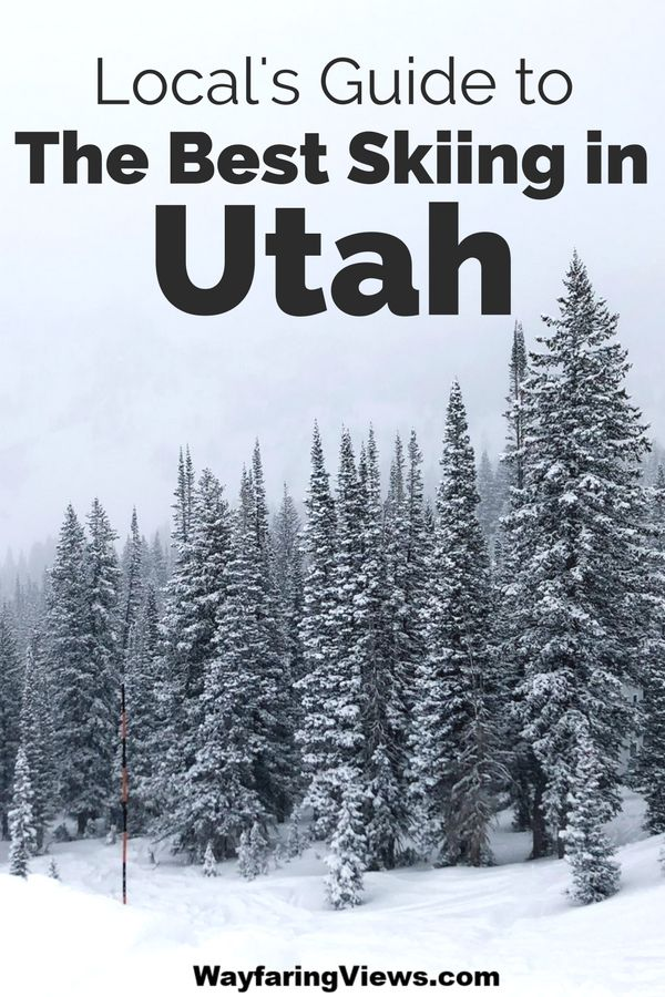 Find the best skiing in Salt Lake City Utah with this local's guide. This trip planning guide will help you find the best ski resort and offers tips on where to stay. #utah #skiing   Ski Utah | Ski Salt Lake City | Utah Winter Activities | Salt Lake City Winter Activities | Snow Skiiing | Ski Travel Guide | Things to do in Salt Lake City |
