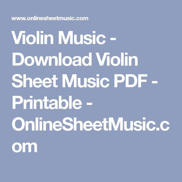 Best 25+ Violin Sheet Music Ideas On Pinterest