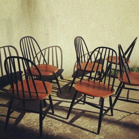 chaises su doises de carl malmsten dition haga fors chairs assises pinterest. Black Bedroom Furniture Sets. Home Design Ideas