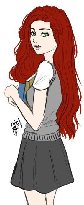 FINALLY SOMEONE WHO UNDERSTANDS THAT LILY'S HAIR WAS DARK RED AND NOT BRIGHT RED LIKR GINNY'S