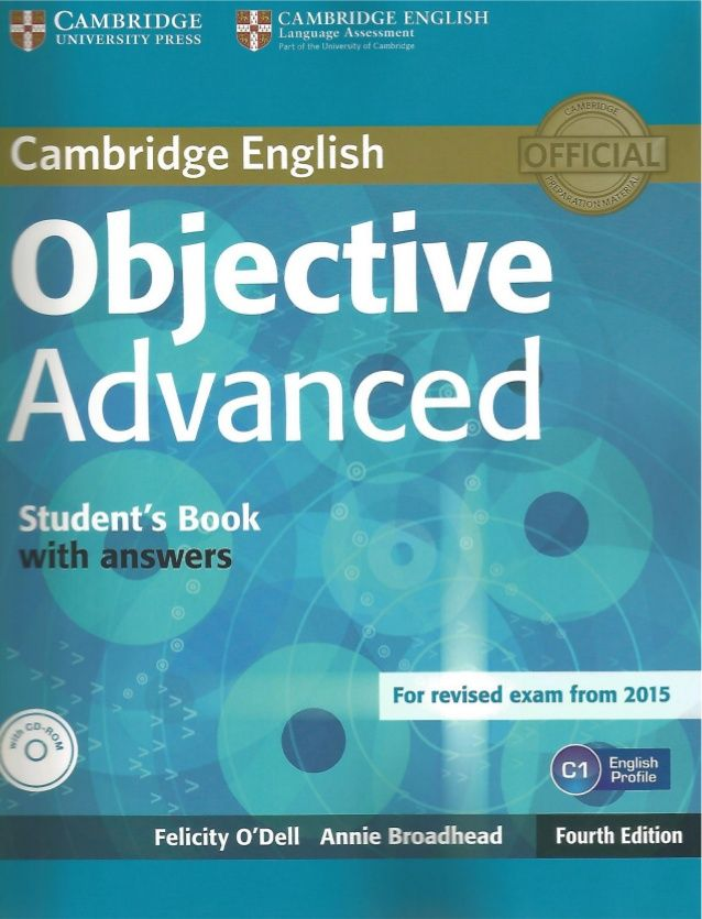 Objective Advanced Student S Book 4th Edition Cambridge English Teacher Books Books
