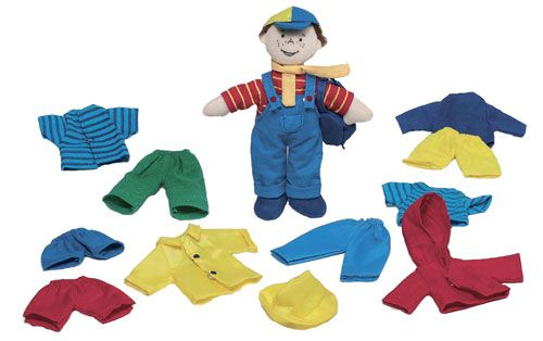 """Say """"hello"""" to Marc, the dress up doll who makes a great little playmate for your little one. Marc comes with 6 complete outfits which make learning to dress even more fun."""