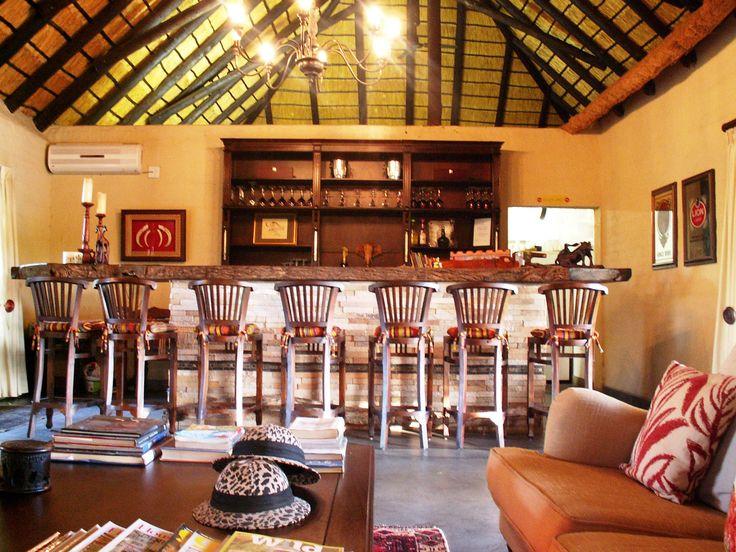 Warthog Bar at Shikwari Bush Lodge.