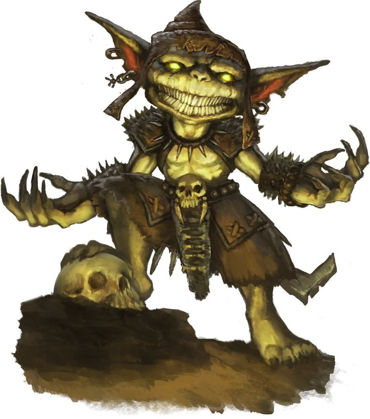 Not all goblins are as weak as they appear.