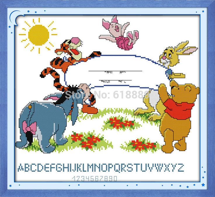 522 best baby announcement images – Winnie the Pooh Birth Announcements