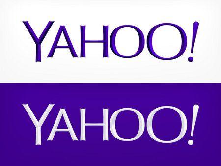 #Yahoo! presenta al pubblico il nuovo logo aziendale.
