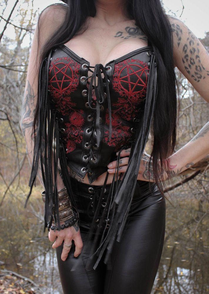 TOXIC VISION Devil's Garden bustier | Toxic Vision